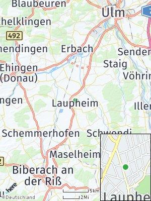 Here Map of Laupheim