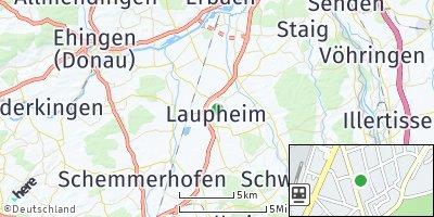 Google Map of Laupheim