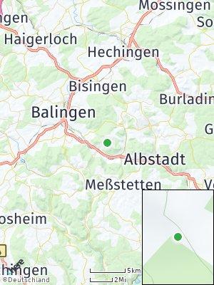 Here Map of Burgfelden