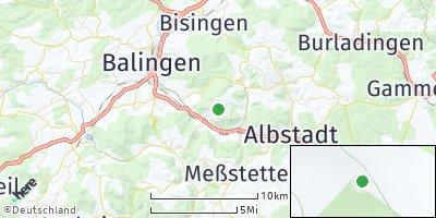 Google Map of Burgfelden