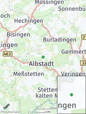 Here Map of Truchtelfingen