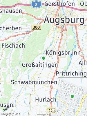 Here Map of Wehringen