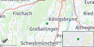 Google Map of Wehringen