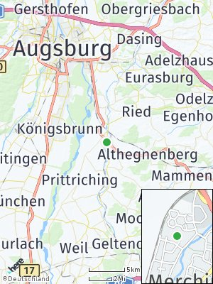 Here Map of Merching