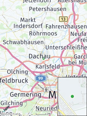 Here Map of Oberaugustenfeld