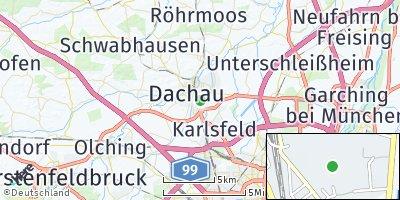 Google Map of Unteraugustenfeld