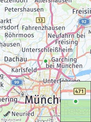 Here Map of Oberschleißheim