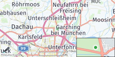 Google Map of Hochbrück bei München