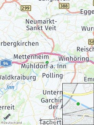 Here Map of Mühldorf am Inn