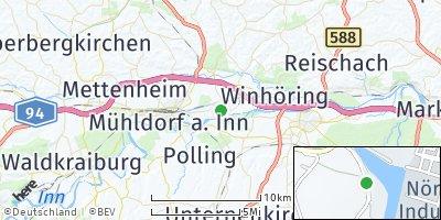 Google Map of Töging am Inn
