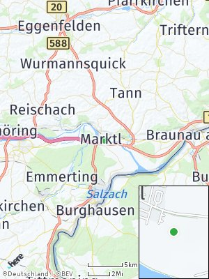 Here Map of Marktl