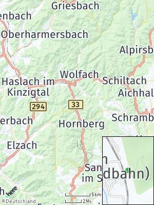 Here Map of Gutach