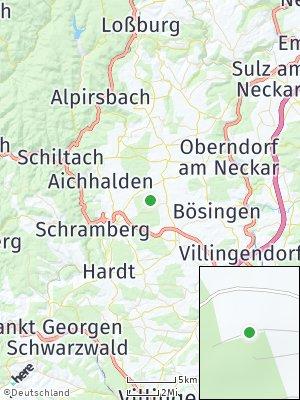 Here Map of Eschbronn