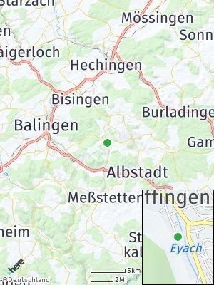 Here Map of Pfeffingen