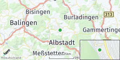 Google Map of Tailfingen