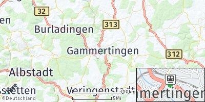 Google Map of Gammertingen