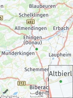 Here Map of Altbierlingen