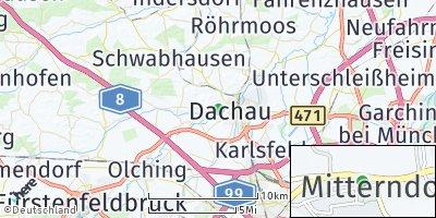 Google Map of Mitterndorf
