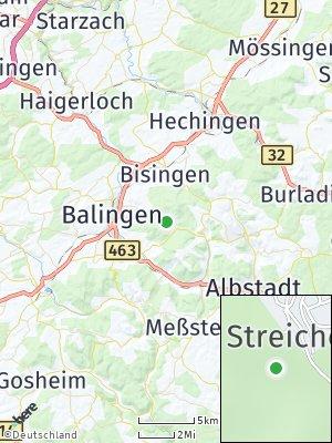 Here Map of Streichen