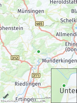 Here Map of Unterwilzingen