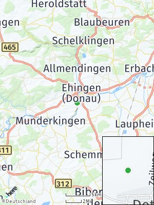 Here Map of Dettingen