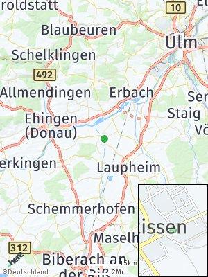 Here Map of Rißtissen
