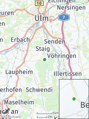 Here Map of Schnürpflingen