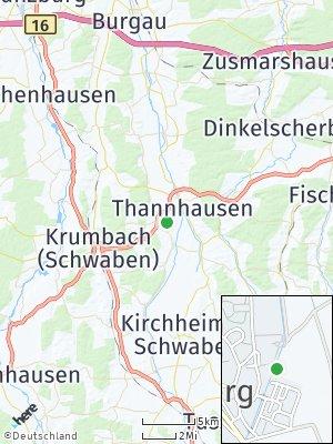 Here Map of Ursberg