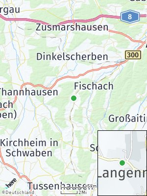 Here Map of Langenneufnach