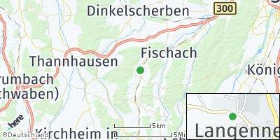 Google Map of Langenneufnach