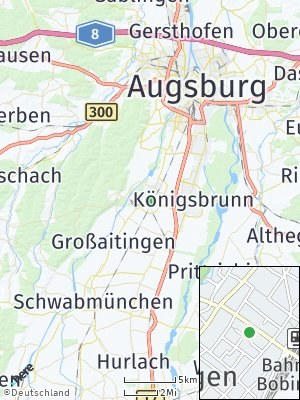 Here Map of Bobingen