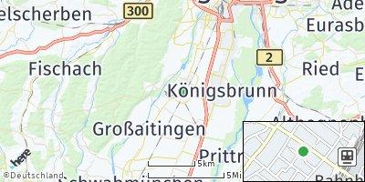 Google Map of Bobingen