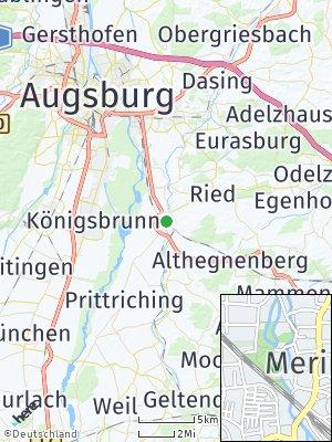 Here Map of Mering