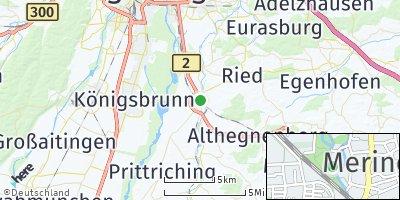 Google Map of Mering