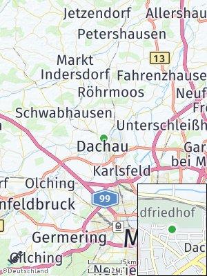 Here Map of Dachau