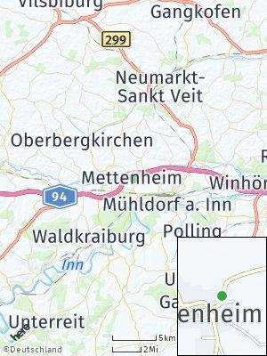 Here Map of Mettenheim
