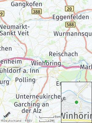 Here Map of Winhöring