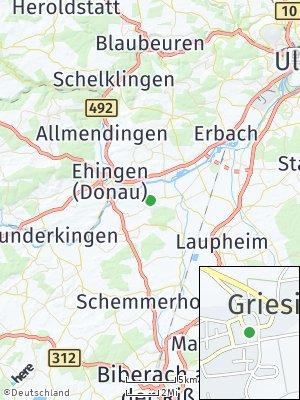 Here Map of Griesingen