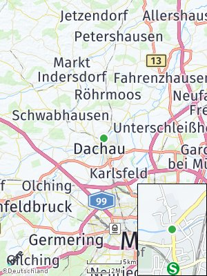Here Map of Etzenhausen
