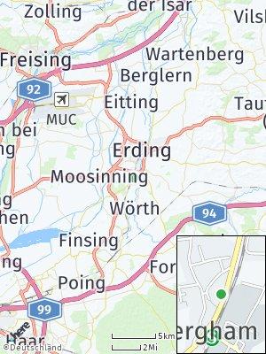 Here Map of Bergham