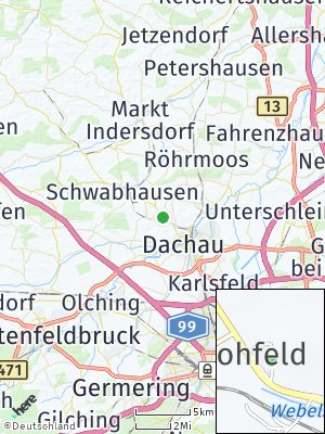 Here Map of Lohfeld