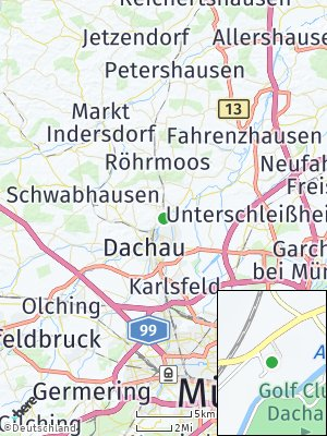 Here Map of Eisingertshofen