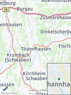 Here Map of Thannhausen