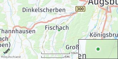 Google Map of Fischach