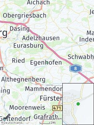 Here Map of Egenhofen