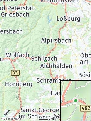 Here Map of Schiltach