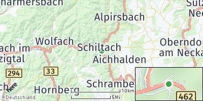 Google Map of Schiltach