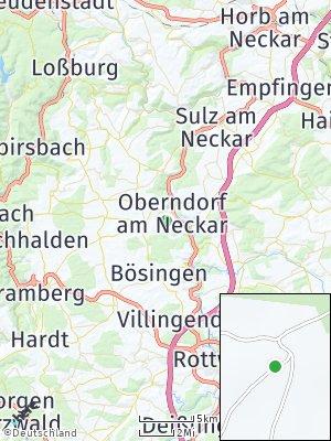 Here Map of Oberndorf am Neckar