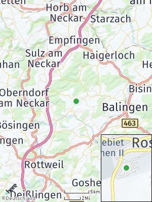 Here Map of Rosenfeld