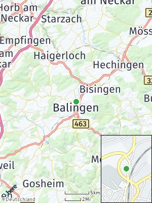 Here Map of Balingen